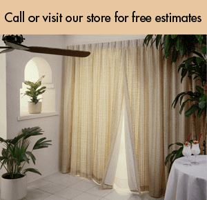 Draper Screen - Lake Orion, MI - Lake Orion Window Treatments - drapery - Free Estimates In Lake Orion, MI