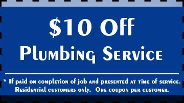 Plumber - Melbourne, FL - Plumbing Masters - $10 Off Plumbing Service * If paid on completion of job and presented at time of service. Residential customers only. One coupon per customer.