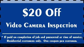 Toilet Repair - Melbourne, FL - Plumbing Masters - $20 Off Video Camera Inspection * If paid on completion of job and presented at time of service. Residential customers only. One coupon per customer.