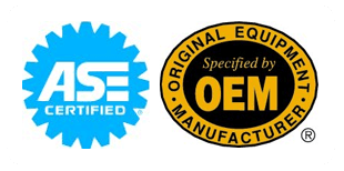 OEM Parts, Automotive Service Excellence (ASE) Certified