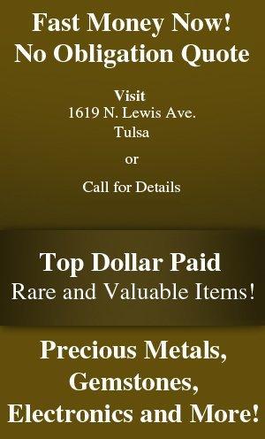 Pawn Services - Tulsa OK - Tulsa Pawn Starz