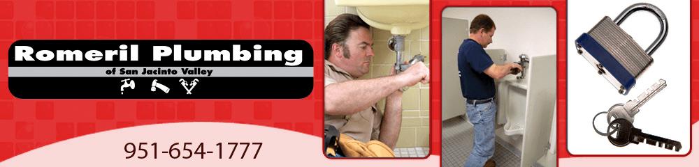 Plumbing Services - San Jacinto, CA - Romeril Plumbing & Hardware