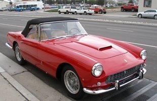 Complete vintage car restoration