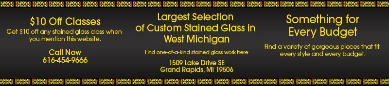 Stained glass classes - Rainbow Resources Art Glass Inc. - Grand Rapids, MI