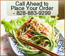 Thai Food - Brevard, NC - Pad Thai - thai dish - Call Ahead to Place Your Order - 828-883-9299