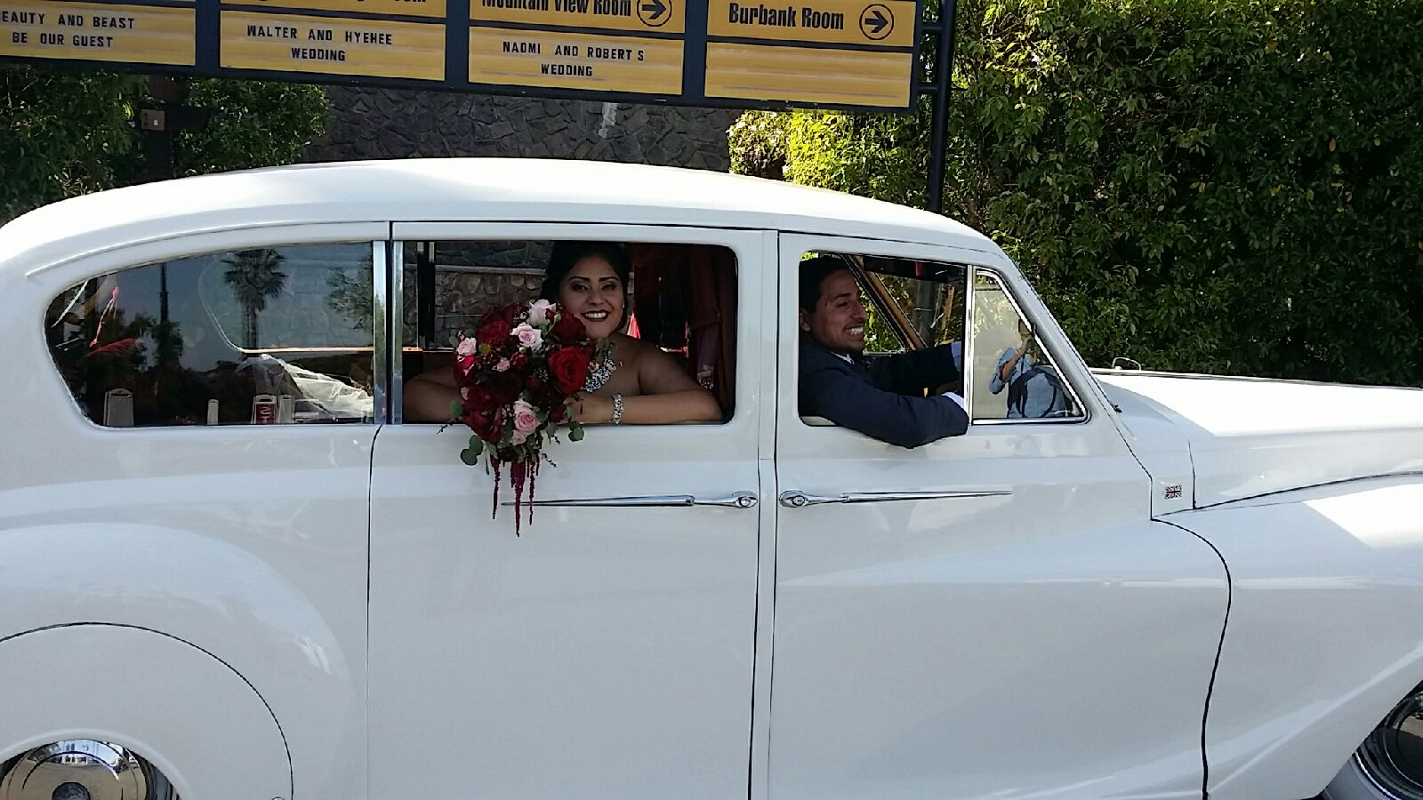 Classic Car wedding rentals Inland Empire, Claremont, Riverside ...