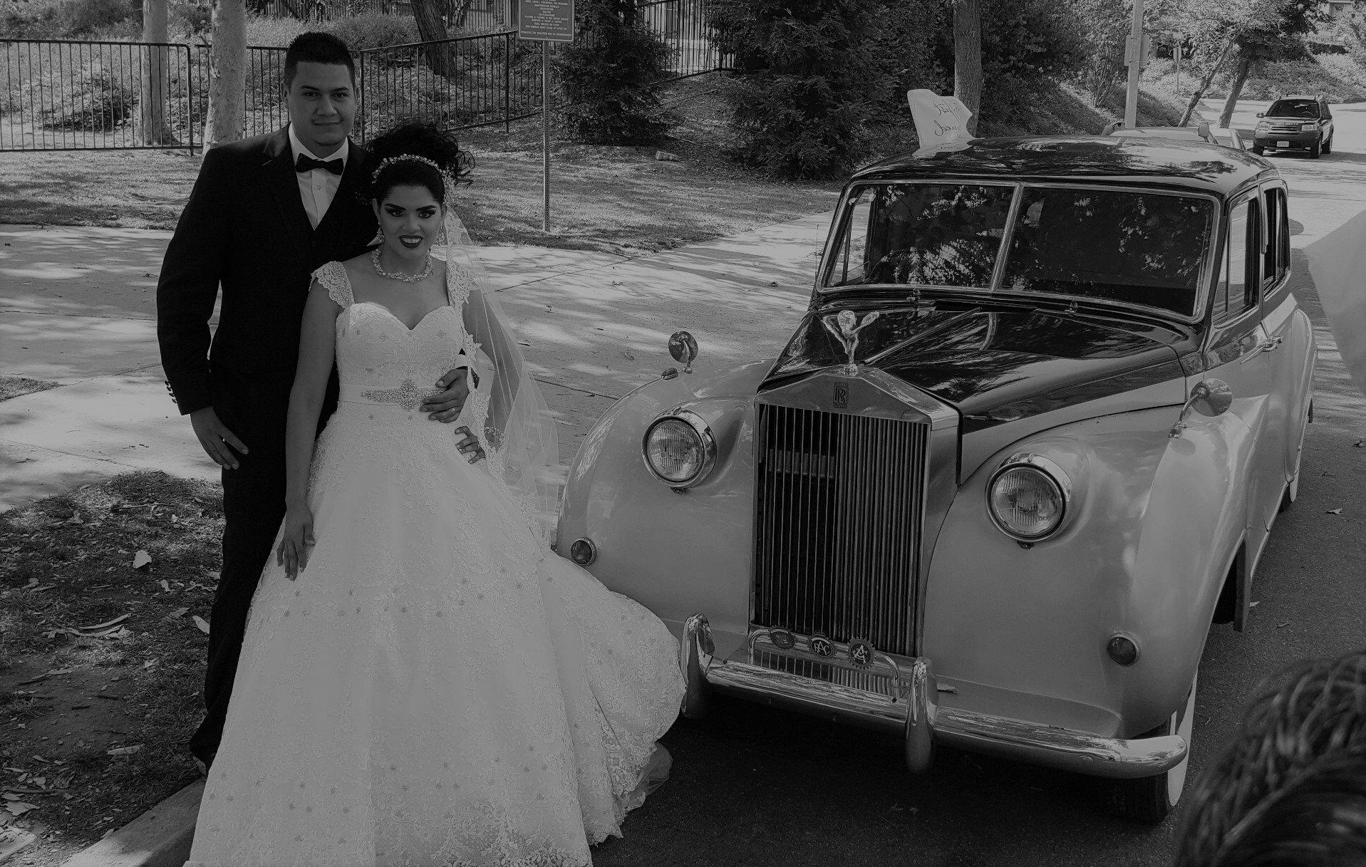 Black & silver Princess Rolls Royce