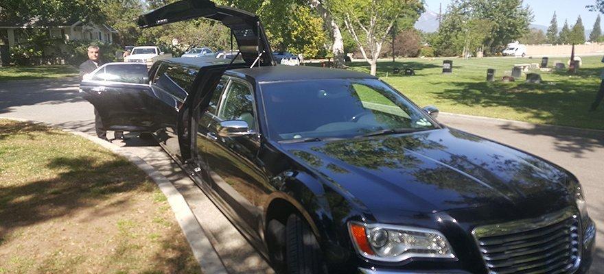 Black limousine service