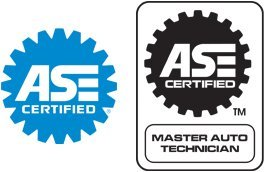ASE-Certified Techs, aster ASE Certified | Automotive Service Excellence (ASE) Certified, Master ASE Certified.