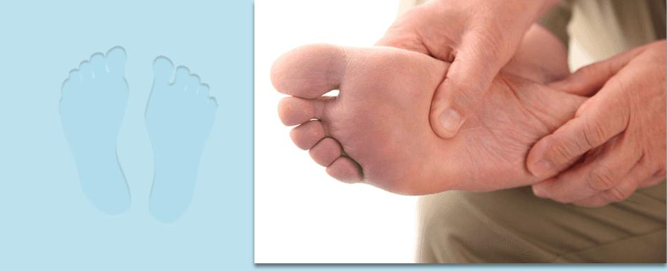 Foot treatment massage