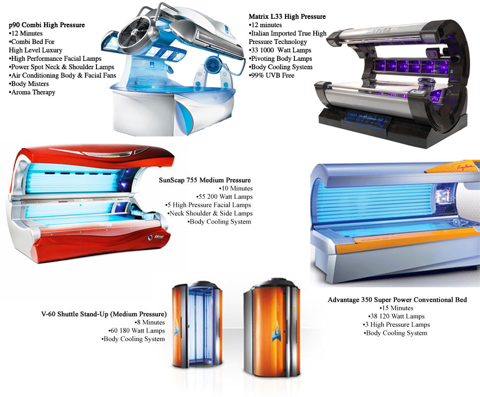 UV Beds / Tanning Products - Marysville, WA - Sun Factory Tanning Salon