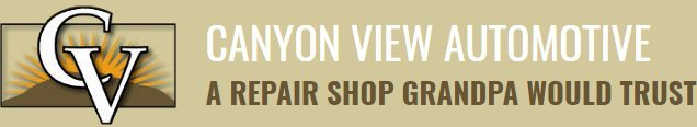 Canyon View Automotive - Logo