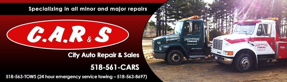 Towing - City Auto Repair & Sales - Plattsburgh, NY
