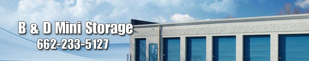 Storage Rental Independence, MS - B & D Mini Storage