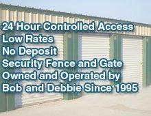 storage rental - Independence, MS - B & D Mini Storage - mini storage