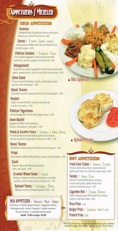 Anatolian Kitchen Menu Bethlehem Pa – PPI Blog