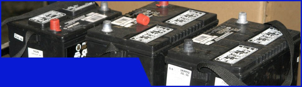 Used batteries | Louisville, KY | Kentucky Battery Outlet | 888-227-2307