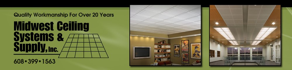 Ceilings Holmen, WI - Midwest Ceiling Systems & Supply Inc.
