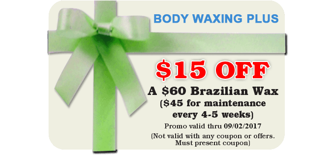Promotions | Cincinnati, OH | Body Waxing Plus | 513-985-9185