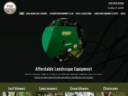 Pro Landscape Supply Landscape Equipment Stamford Ct