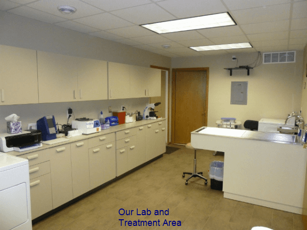 Lab and Treatment Area