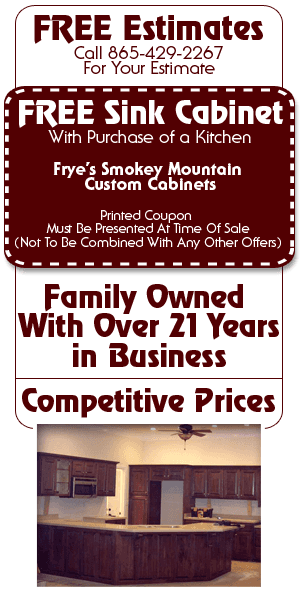 Cabinets - Sevierville, TN - Frye's Smokey Mountain Custom Cabinets
