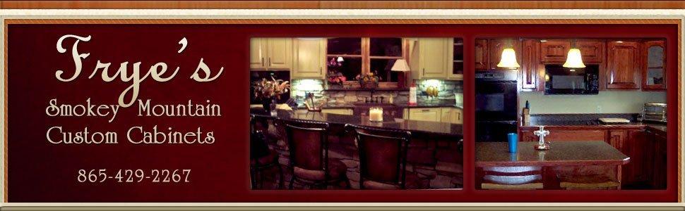 Sevierville, TN - Frye's Smokey Mountain Custom Cabinets - Woodwork