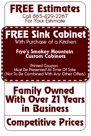 Woodwork - Sevierville, TN - Frye's Smokey Mountain Custom Cabinets