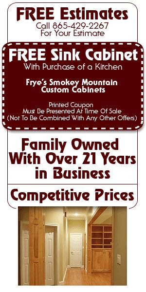 Doors - Sevierville, TN - Frye's Smokey Mountain Custom Cabinets