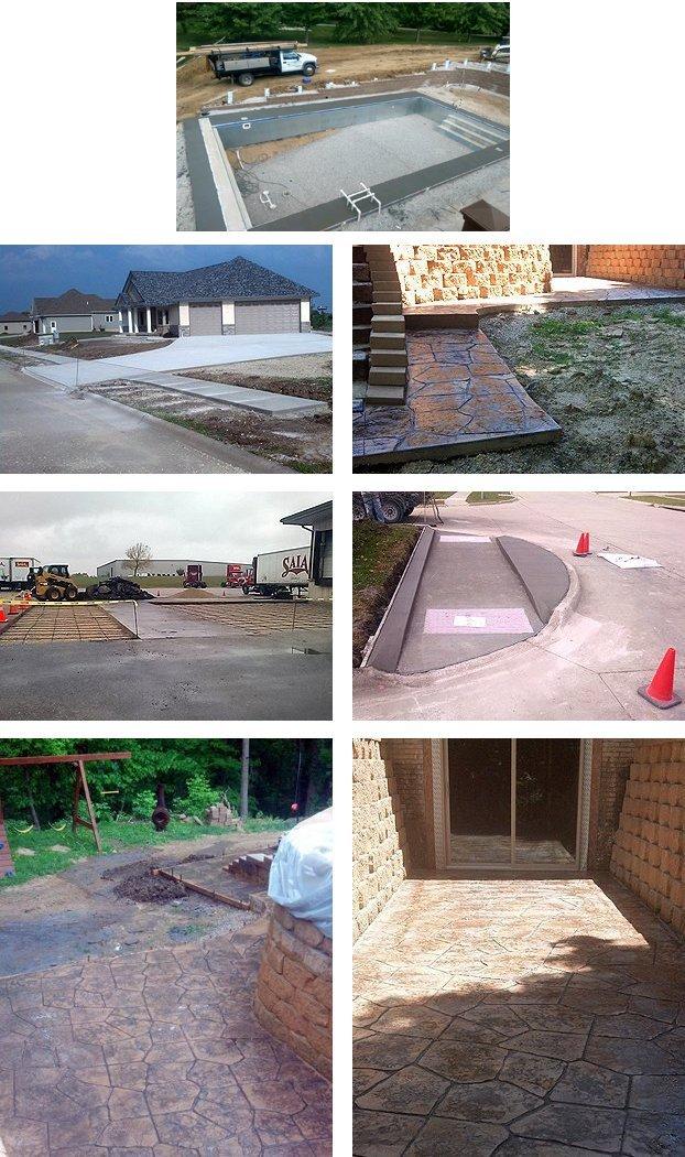 Cedar Rapids, IA Concrete Contractors, Concrete, Patios, Driveway