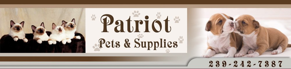 Pet Shop - Cape Coral, FL - Patriot Pets & Supplies