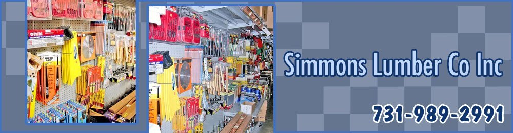 Building Materials - Henderson, TN - Simmons Lumber Co Inc