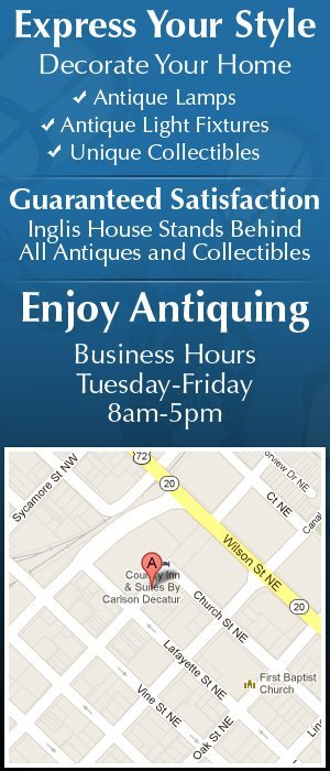 Inglis House - Antiques and Collectables - Decatur, AL