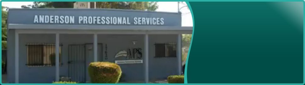 Tax Prep | Lake Elsinore, CA | Anderson Professional Services | 951-678-2165