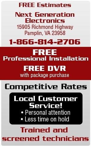 Satellite Television Services - Pamplin, VA 23958 - Next Generation Electronics