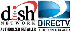 Dish Network and Direct TV logos