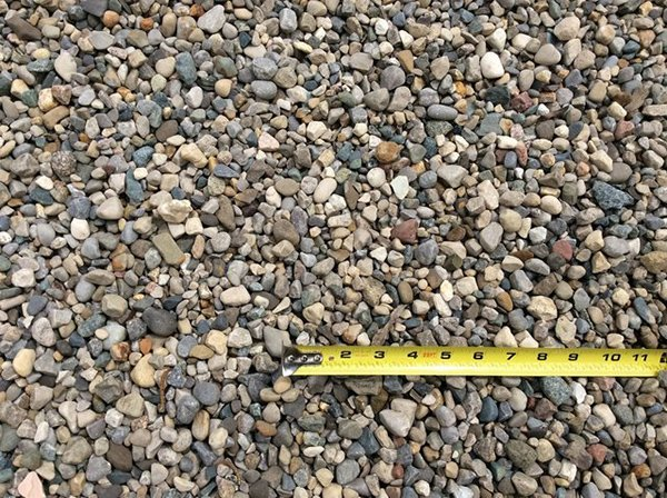Crushed River Rock 2500 to 2700 lbs./yd. - Stones Limestone Fort Wayne, IN