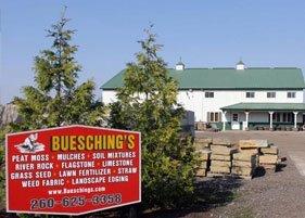 Buesching's Peat Moss & Mulch Inc. Office
