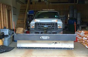 truck for snow removal