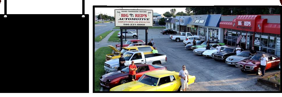 Contact Big Red's Automotive - Clinton Township, MI | 586