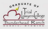 Graduate of Trial Lawyers College-Logo