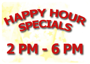 Happy Hour Specials | Post Falls, ID | GW Hunters Steakhouse | 208-777-9388