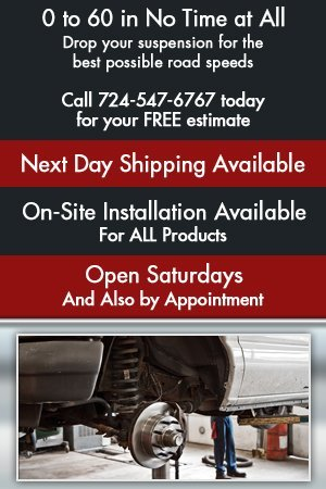 Auto Suspension - Mount Pleasant, PA - Walt's Car Audio & Truck Accessories