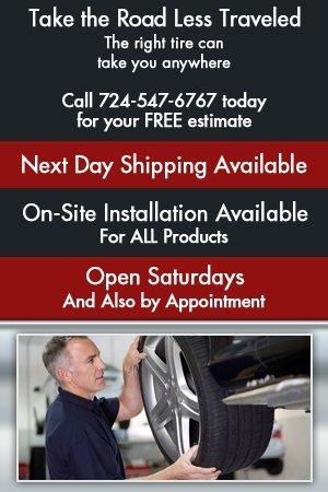 Auto Tires - Mount Pleasant, PA - Walt's Car Audio & Truck Accessories