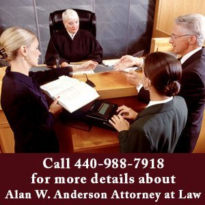 Lawyer - Amherst, OH - Alan W. Anderson Attorney at Law - trial - Call 440-988-7918 for details about Alan W. Anderson Attorney at Law
