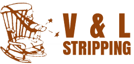 V & L Stripping - Logo