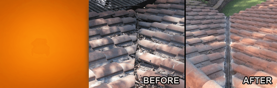 Before And After Tile Roofing