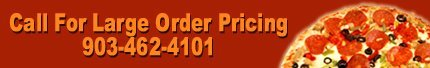 Pizza Menu - Denison, TX - Little Caesar's - Call For Large Order Pricing 903-462-4101