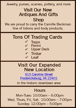 The Card Cellar - Sports Collectibles and Gifts - Fredericksburg, VA
