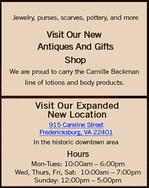 Antiques and Gifts - Fredericksburg, VA - The Card Cellar